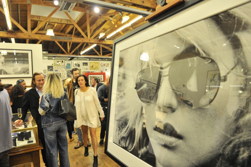 Atmosphere at  'Me, Blondie, and the Advent of Punk' exhibit at Paul Smith LA. Photo: Donato Sardella/WireImage
