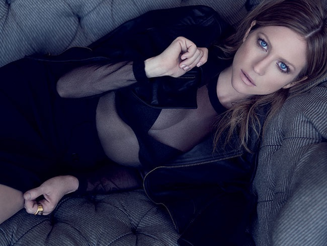Brittany Snow Wears Dark Fashions for Vegas Cover Story