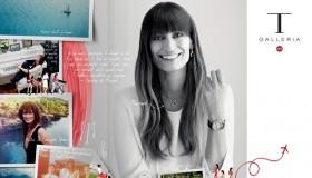 Caroline de Maigret stars in T Galleria by DFS spring-summer 2015 campaign