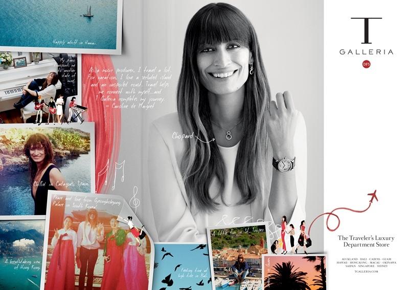 Caroline de Maigret Shares Personal Photos with T Galleria by DFS