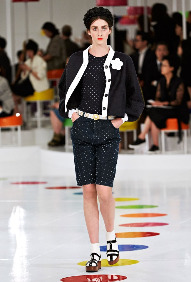 A look from Chanel's cruise 2016 collection