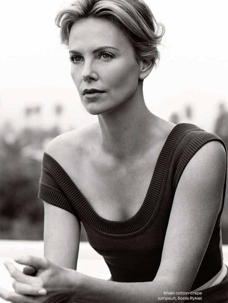 Charlize had to shave her head for the 'Mad Max' role