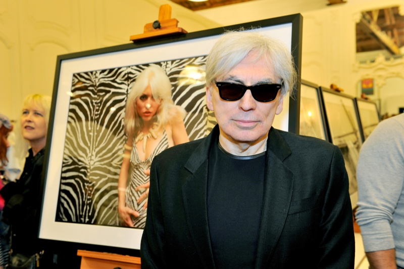 Chris Stein at his Blondie exhibit at Paul Smith LA. Atmosphere at  'Me, Blondie, and the Advent of Punk' exhibit at Paul Smith LA. Photo: Donato Sardella/WireImage