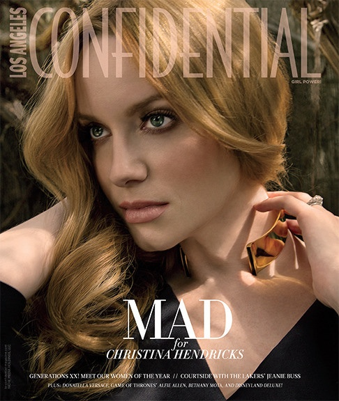 Christina Hendricks lands the May-June 2015 cover of LA Confidential