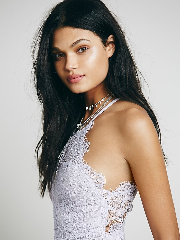 Daniela Braga is another popular Free People model. The Brazilian beauty has appeared in shoots for the brand since 2014.