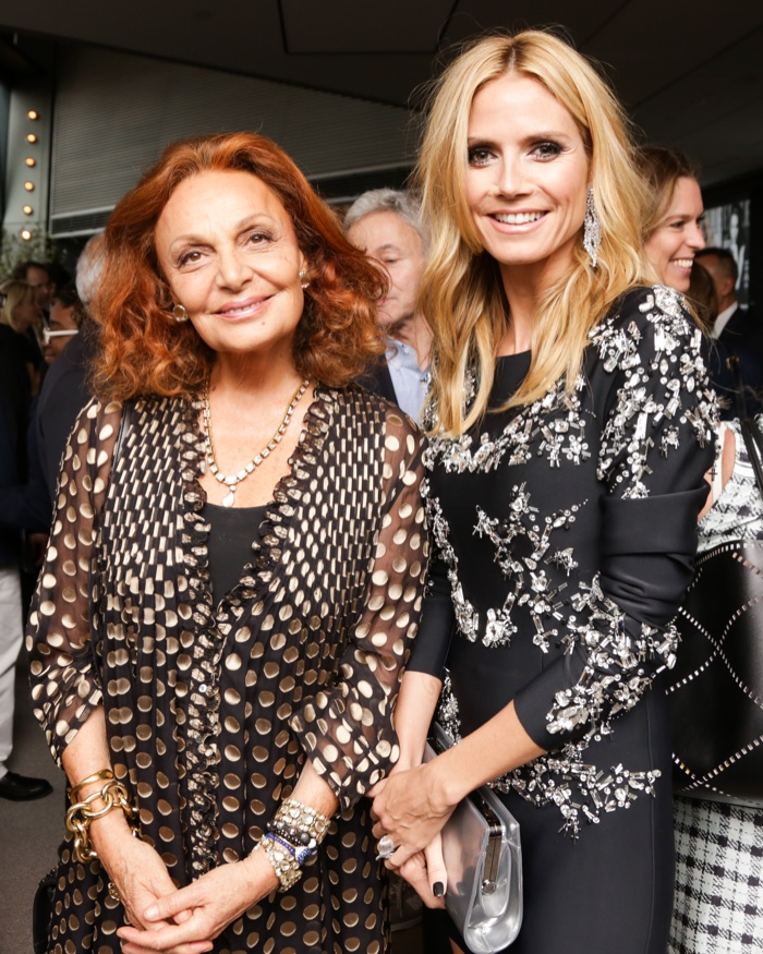 Heidi Klum, DVF, Nicola Peltz Celebrate Robbie Myers 15th Year at ELLE