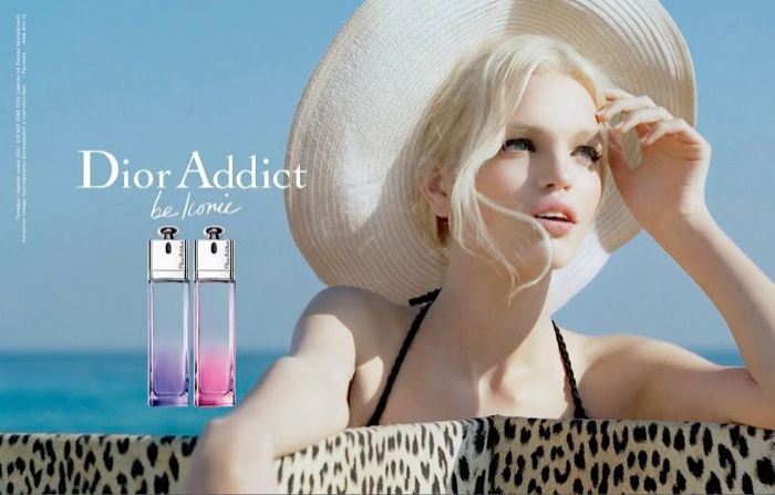 Daphne Groeneveld was named the face of Dior Addict fragrance in 2012.