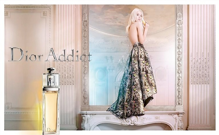 Sasha Luss named the face of Dior Addict fragrance in 2015.