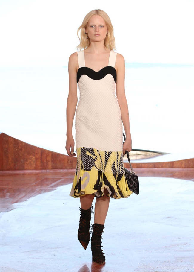A look from Dior's cruise 2016 collection
