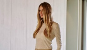 In her interview, the supermodel talks about not worrying about the number on the scale