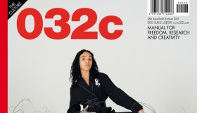 FKA Twigs poses for 032c  Magazine summer 2015 cover