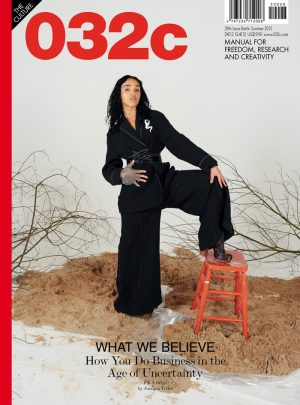 FKA Twigs Suits Up, Anja Goes Flash Dance for 032c Covers