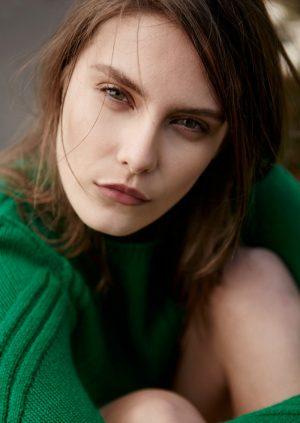 Charlotte Wiggins Models Spring Florals for Bazaar Turkey