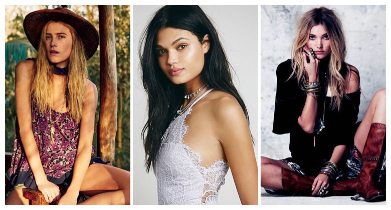 Beautiful Muses: 7 of Free People's Favorite Models