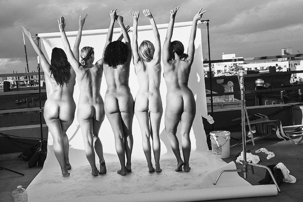 The models of ALDA go naked in this image