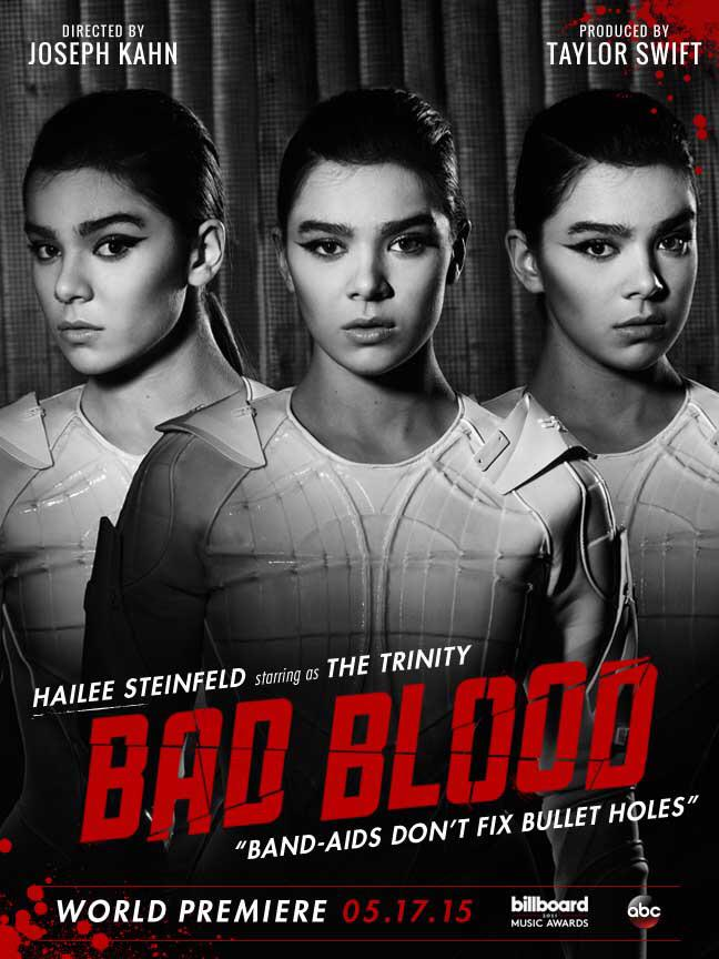 Hailee Steinfeld, Lena Dunham Get Their Own 'Bad Blood' Posters