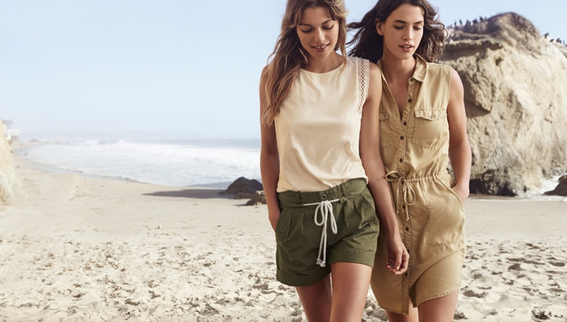 Neutral colors are key for the summer months
