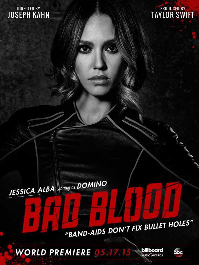 Jessica Alba for 'Bad Blood'