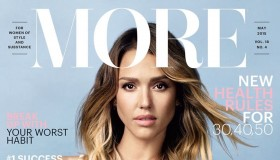 Jessica Alba fronts the May 2015 cover of More Magazine