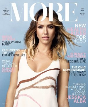 Jessica Alba Covers More Magazine, Talks Honest Company Success