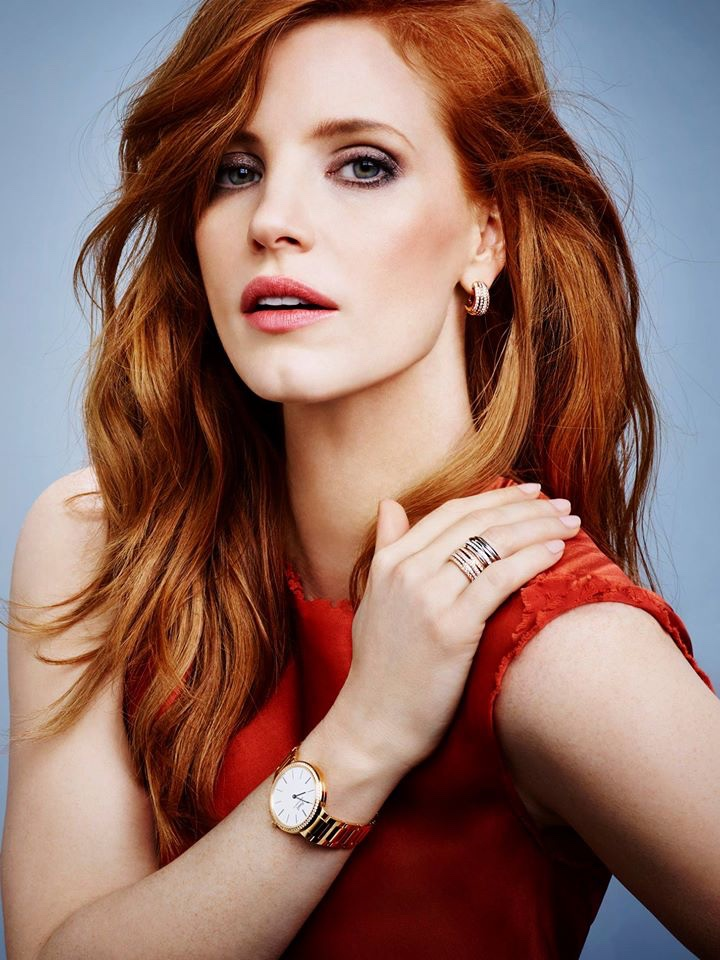 Jessica Chastain was named the new brand ambassador for Piaget.