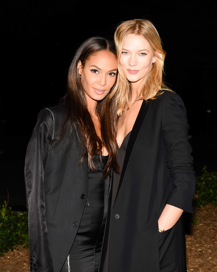 Joan Smalls, Karlie Kloss, Daisy Lowe Celebrate NY Exhibit with Calvin Klein