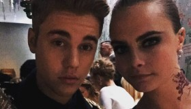 Justin Bieber and Cara Delevingne took a selfie at the Met Gala