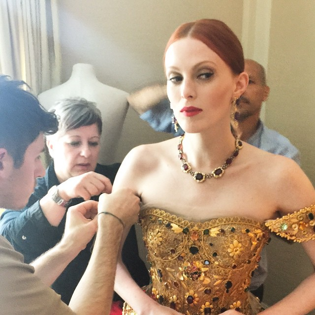 Met Gala 2015: Star & Model Instagram Selfies & Photos