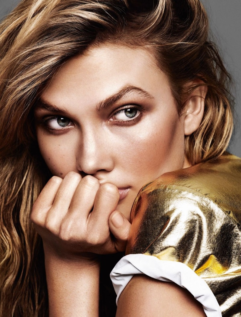 Karlie is a spokesmodel for L'Oreal Paris