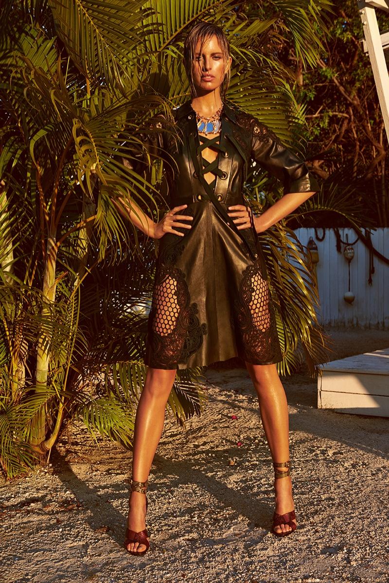 Karolina wear sa look from Gucci