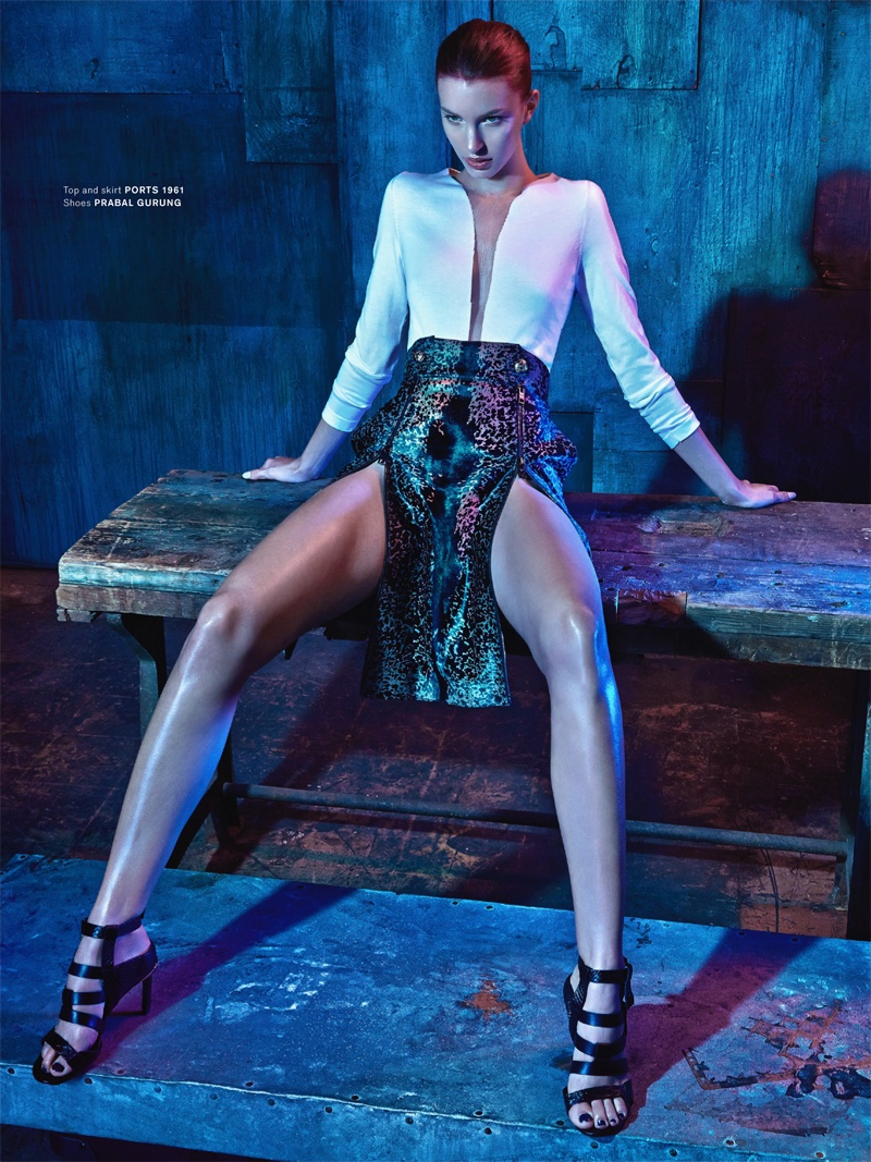 Kate King Is Sleek Amp Sexy In Archetype Cover Story