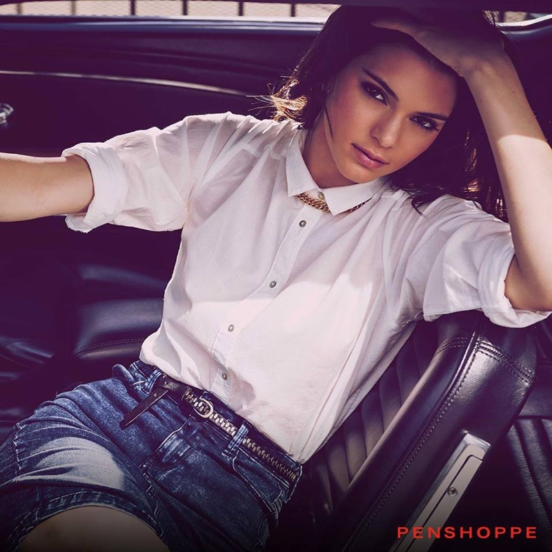 Kendall poses for Penshoppe campaign