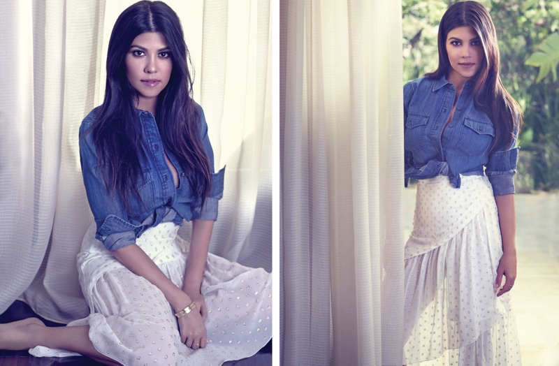 Kourtney Kardashian Talks Motherhood with BAZAAR