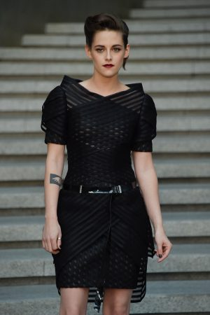 Kristen Stewart, Gisele Bundchen Match in Black at Chanel's Cruise Show