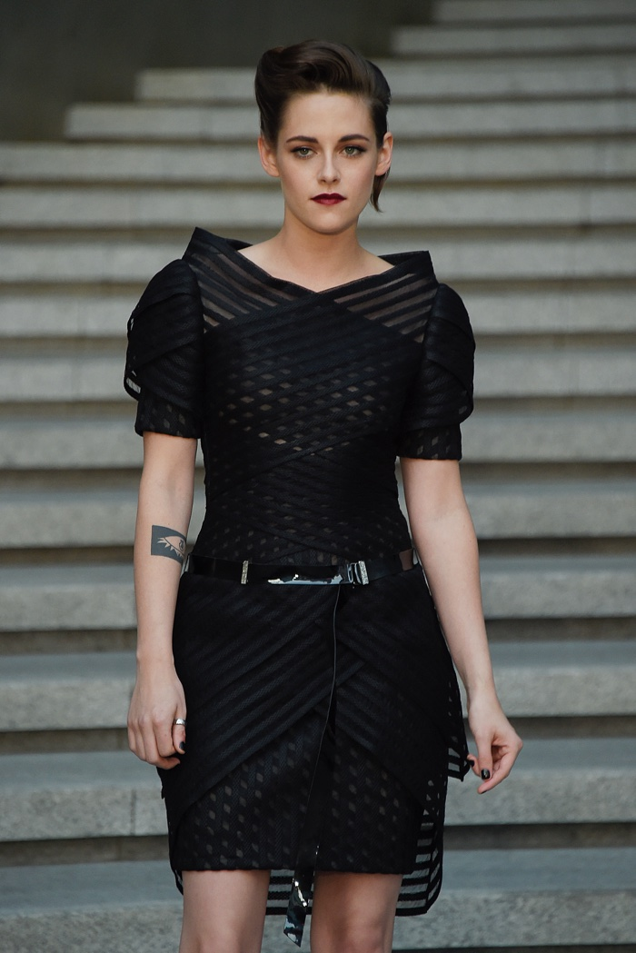 Kristen Stewart at Chanel's Cruise 2016 show in Korea