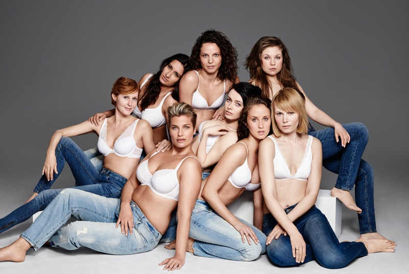 Lindex has tapped its employees to model for its new underwear campaign