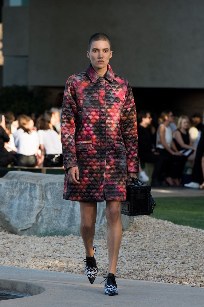 A look from Louis Vuitton's cruise 2016 collection