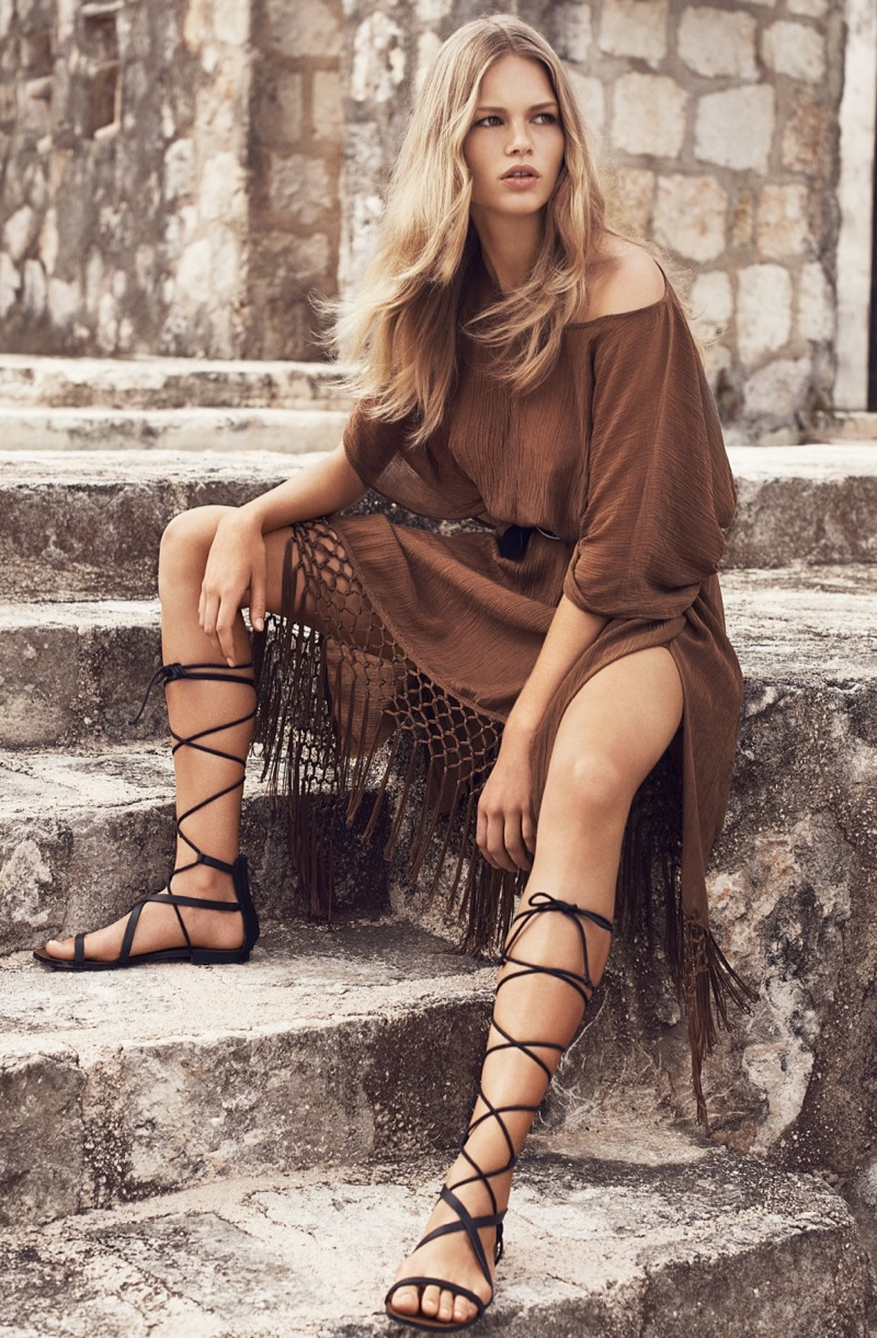 Anna Ewers Has a Nomadic Summer in Mango