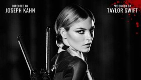 Model Martha Hunt stars on 'Bad Blood' poster