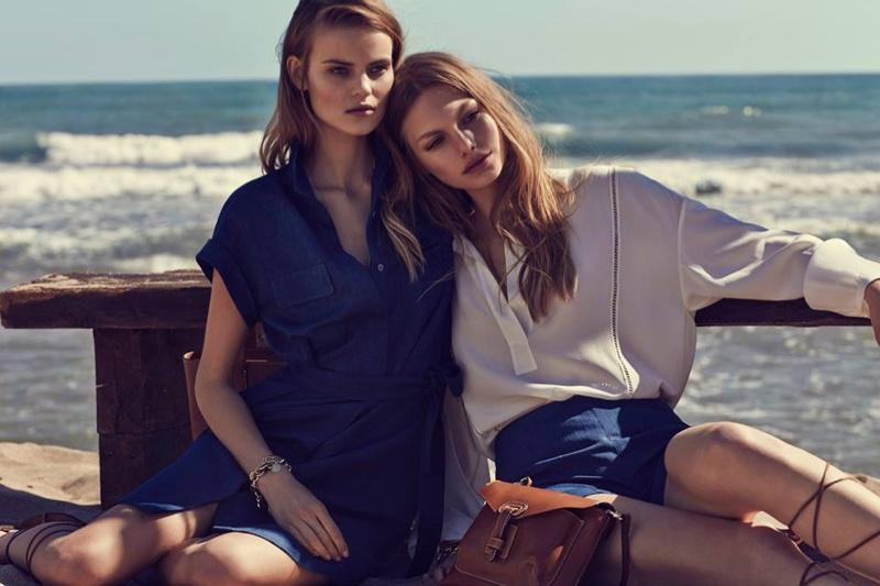 Annika + Kate Star in Dreamy Massimo Dutti May Lookbook