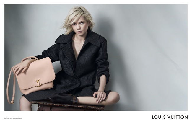 Michelle Williams returns as the face of Louis Vuitton's handbag campaign