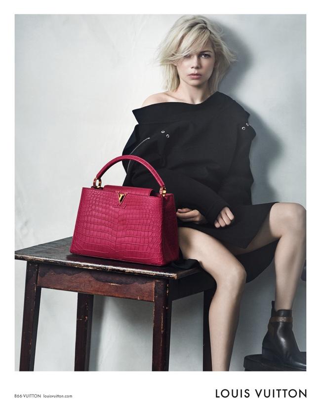 Michelle has been a Louis Vuitton ambassador since 2013
