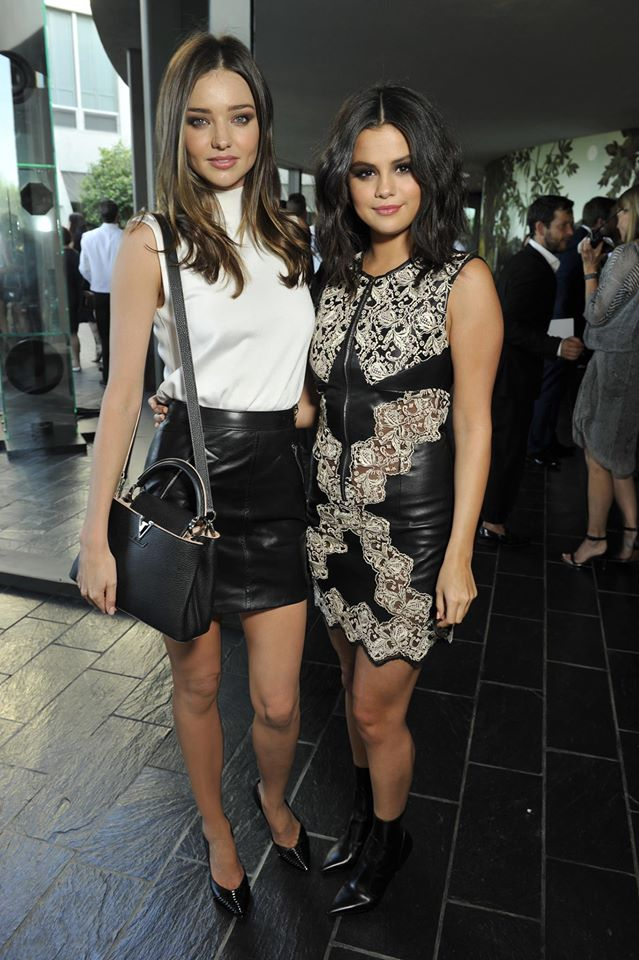 Miranda Kerr, Selena Gomez, Michelle Williams Step Out in Style at the Louis Vuitton Cruise Show