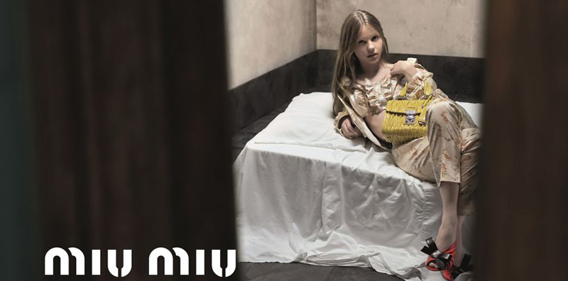 """Miu Miu Under Fire for """"Sexually Suggestive"""" Ad"""