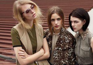 The Girls of Modelwerk Go Bohemian for 20th Anniversary Magazine