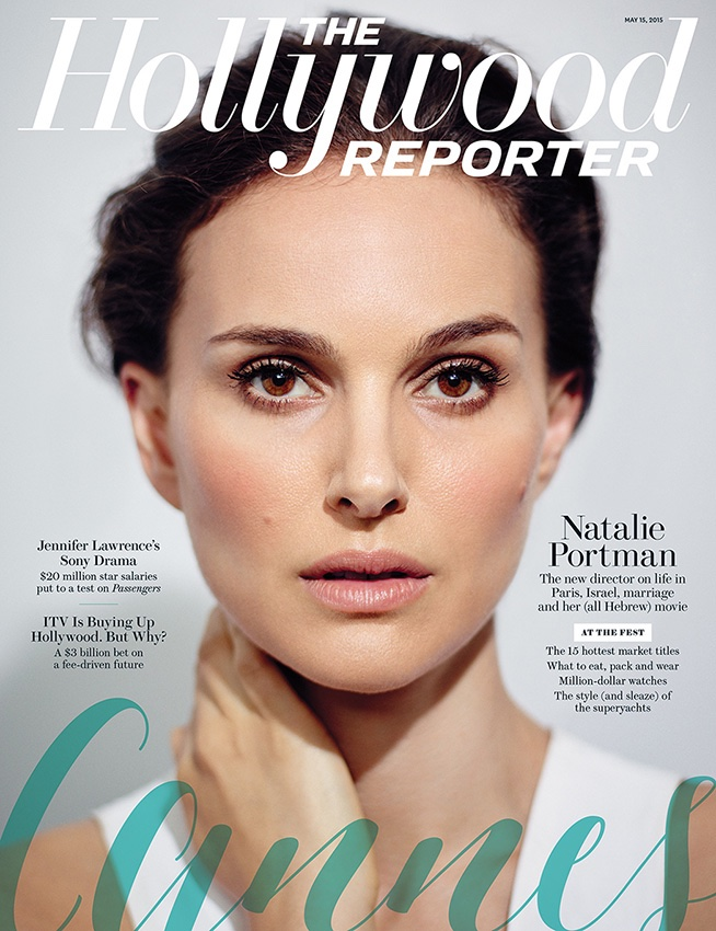 Natalie Portman lands the May 15, 2015, cover of The Hollywood Reporter