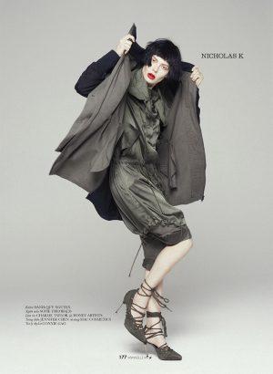 Sofie Theobald Wears 'New York's Finest' for ELLE Vietnam