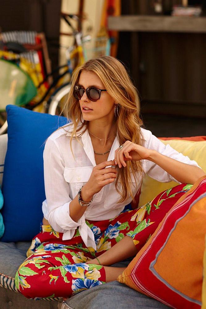Keke Lindgard stars in Polo Ralph Lauren's summer 2015 campaign