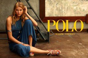 Keke Lindgard is Easy Breezy in Polo Ralph Lauren Ads