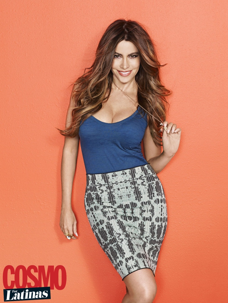 """Sofia Vergara Covers Cosmo for Latinas: """"It Would Be OK to Lose Fame"""""""